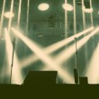 Stage lights - retro style photograph — Stock Photo #73867543