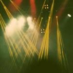 Stage lights - retro style photograph — Stock Photo #73868559