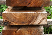 Wood for industrial — Stock Photo
