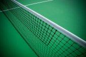 Net of Tennis Court — Stock Photo