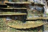 小さな水のカスケード — ストック写真