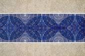 Blue Mosaic — Stock Photo