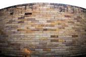 Red sandstone walls — Stock Photo
