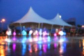 Blur the background of attractions. — Stockfoto