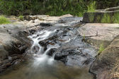 Small Waterfall in tropical forest — Stock Photo