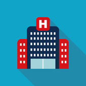 Hospital building — Stock Vector