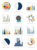 Infographics elements set — Stock Vector