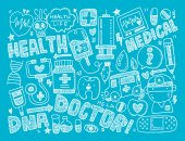 Wykształcenie medyczne — Wektor stockowy