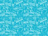 Medyczne wzór — Wektor stockowy
