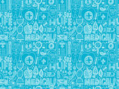 Seamless  medical pattern — Stock Vector