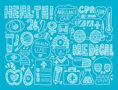 Formação médica — Vetor de Stock