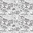 Seamless coffee pattern — Stock Vector #58438379