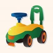 Baby walker theme elements — Stock Vector