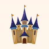 Castle theme elements — Wektor stockowy