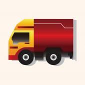 Truck theme elements vector,eps — Stock Vector