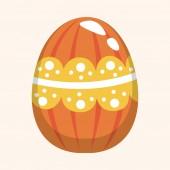 Easter egg theme elements background,eps10 — Vetor de Stock