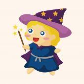 Magician theme elements — Wektor stockowy