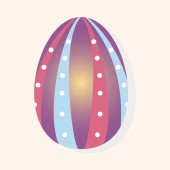 Easter painting egg theme elements vector,eps — Stock Vector