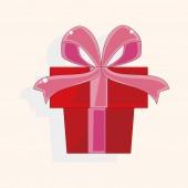 Present gift theme elements — Stock Vector