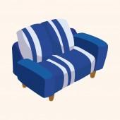Chair theme elements — Stockvector