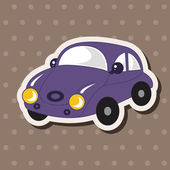 Transportation car theme elements vector,eps — Stock Vector