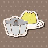 Kitchenware baking module theme elements vector,eps — Stock Vector