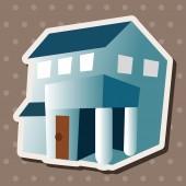 Building house theme elements,eps — Stock Vector