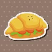 Bread theme elements  — Stock Vector