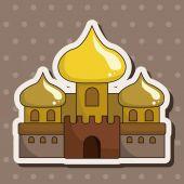 Castle theme elements — Stock Vector