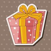 Birthday presents theme elements — Stock Vector