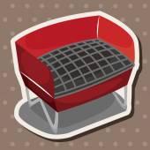 Barbecue equipment theme elements — Stock Vector