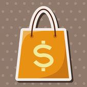 Shopping bag theme elements — Stock Vector