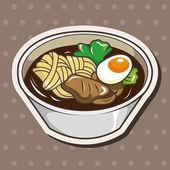 Japanese food theme elements — Stockvector