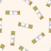 Glue , cartoon seamless pattern background — Stock Vector