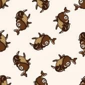 Dibujos animados Bug, dibujos animados de fondo transparente — Vector de stock