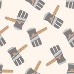 Gardening shovel , cartoon seamless pattern background — Stock Vector #73692263