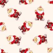 Santa claus ,seamless pattern — Stock Vector