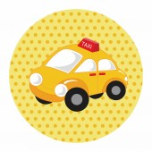 Transportation taxi theme elements vector,eps — Stock Vector
