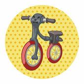 Transport Fahrrad Thema Elementen Vector, eps — Stockvektor