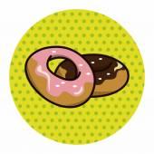 Cookie theme elements — Stock Vector