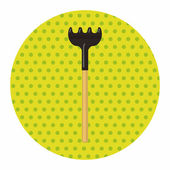 Gardening shovel theme elements — Stock Vector
