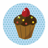 Decorating cake theme elements — Stockvector