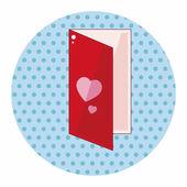 Love letter theme elements — Stock Vector