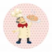 Chef theme elements — Stock Vector