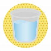 Tooth mug theme elements — Stock Vector