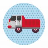 卡车的主题元素 — 图库矢量图片