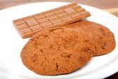 Fresh chocolate cookie — Foto Stock