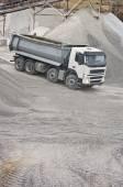 Truck in quarry — Stock Photo