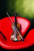 Old violin . — Foto de Stock
