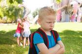 Childhood problems — Stock Photo
